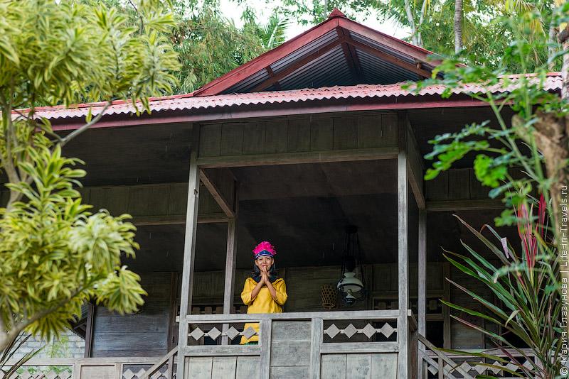 Парк Таман Нуса на Бали (Taman Nusa)