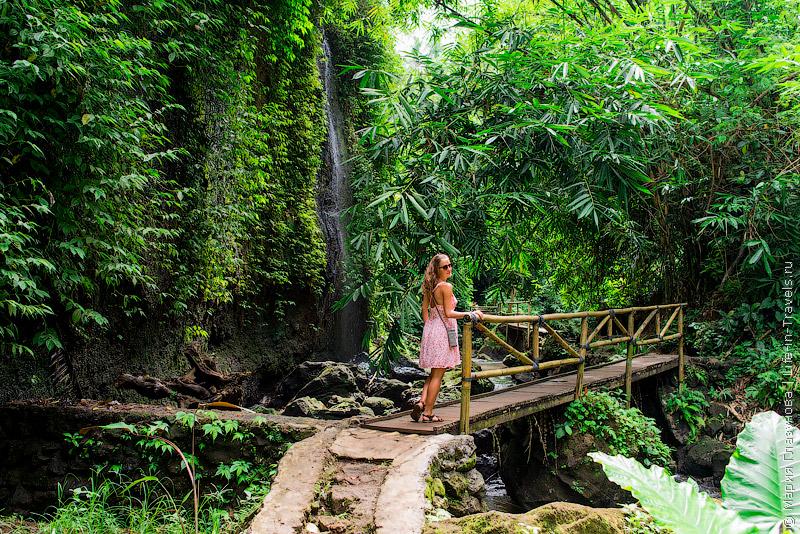 Водопад Тибумана, Бали