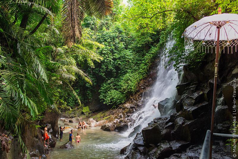 Водопад Канто Лампо, Бали