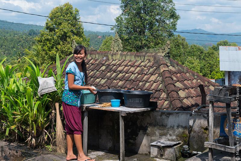 Деревня специй на Бали