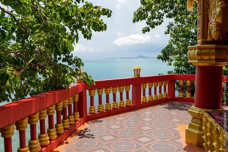 Смотровая площадка на пляже Лила, Панган