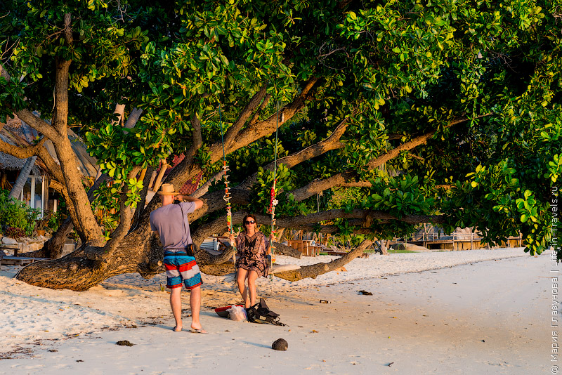 Пляж Лила на Пангане (Leela Beach, Haad Seekantang)