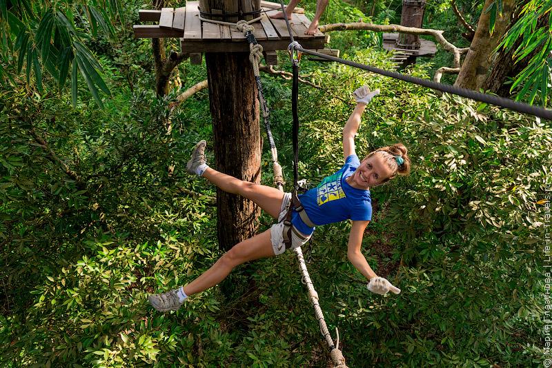 Ко Панган «Just for fun – Canopy Adventure»