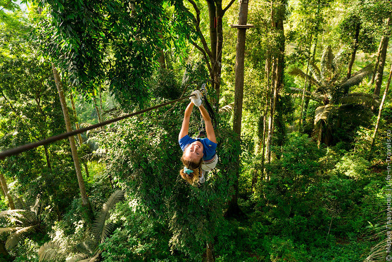 Ко Панган «Just for fun – Canopy Adventure»