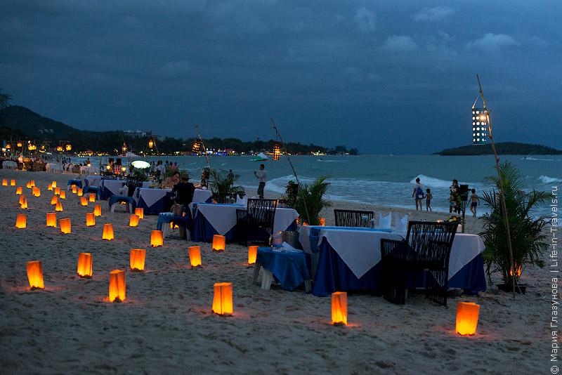 Самуи пляж Чавенг