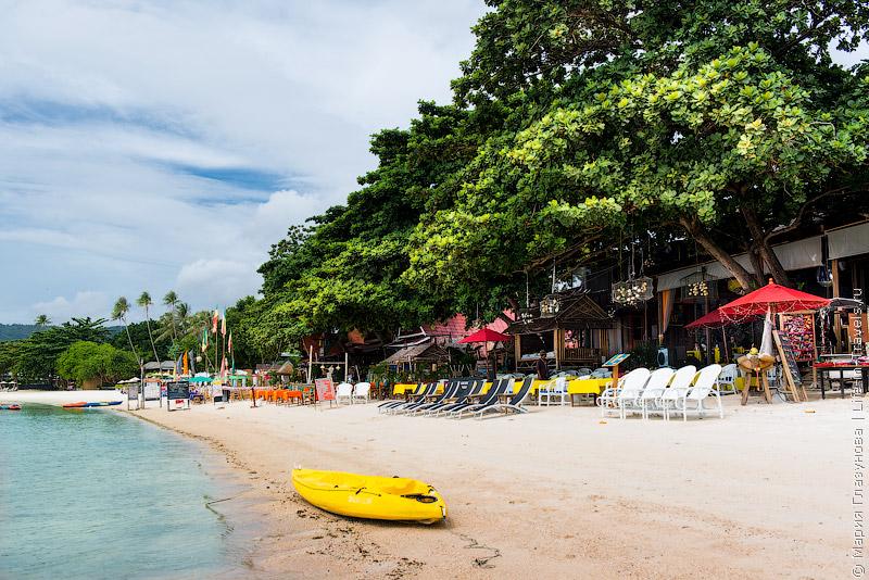 Самуи, пляж Чавенг