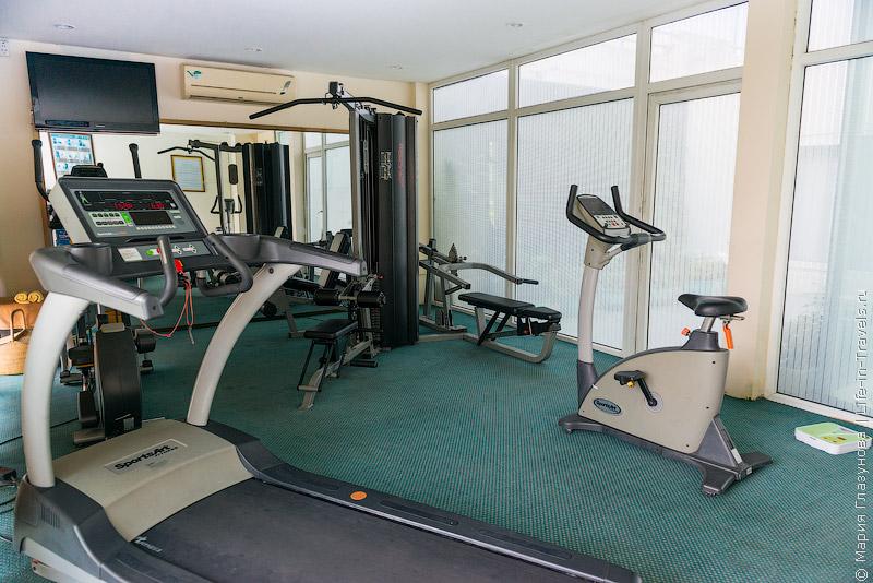 Отель Muong Thanh Hue, Вьетнам – фитнес