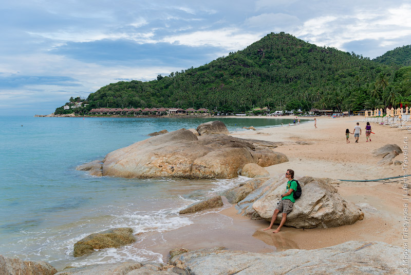 Самуи, пляж Чавенг Ной