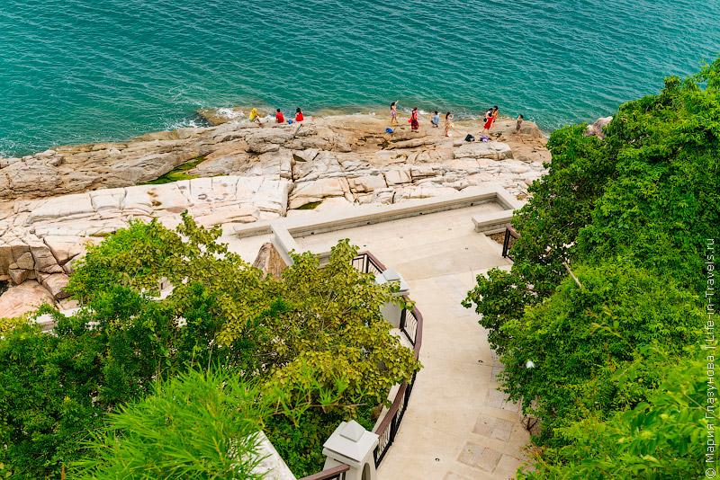 Самуи, пляж Чавенг Ной, смотровая площадка