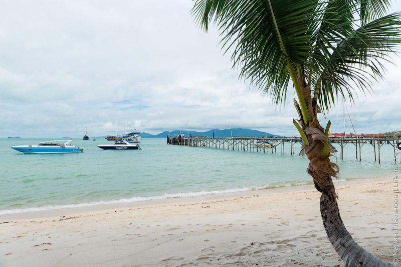 Пляж Банг Рак Самуи