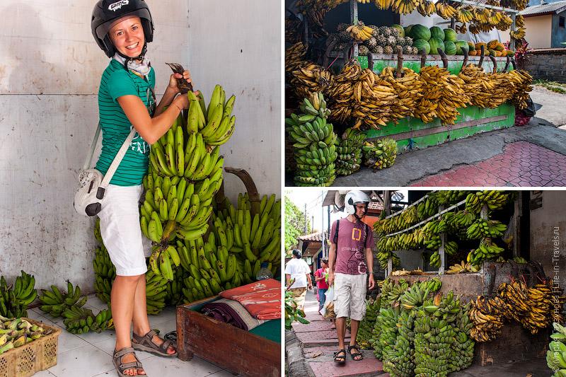 Бананы на Бали