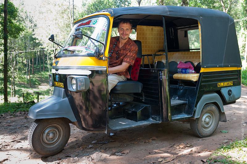 Индийские рикши – тук-туки