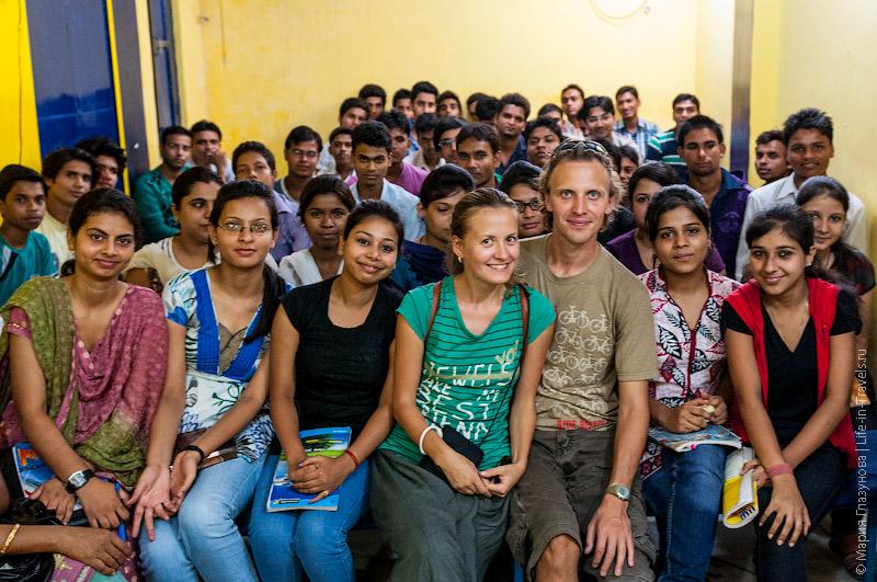 Урок в индийской школе