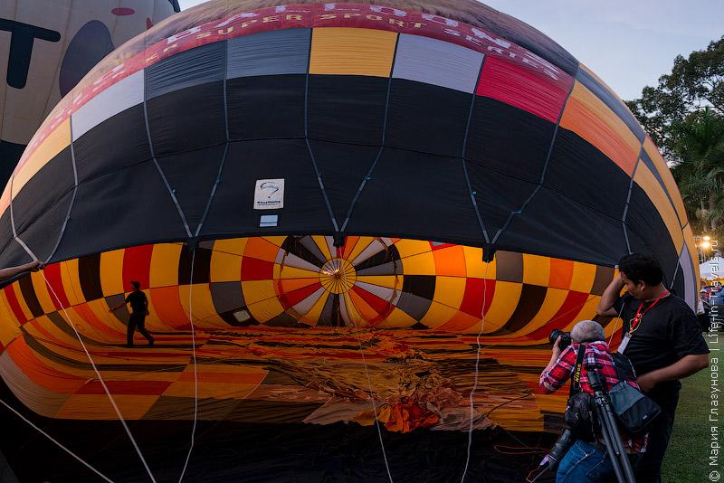 Фестиваль воздушных шаров – Chiang Mai International Balloon Fiesta 2014