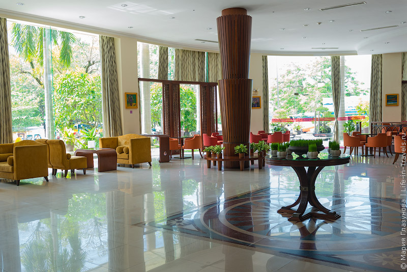 Отель Muong Thanh Hue, Вьетнам – лобби