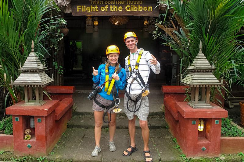 Flight of the Gibbon в Таиланде