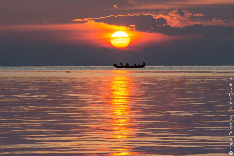 Закаты на Пангане