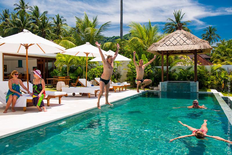 Вилла на Бали – Villa Oceana, Candidasa, Bali