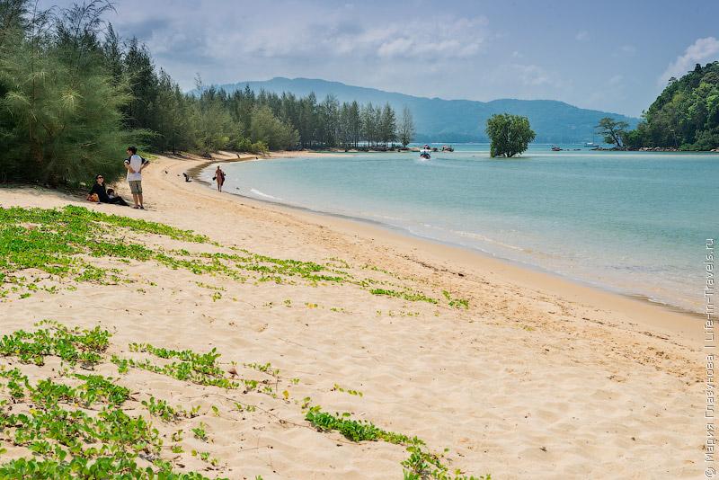 Пляж Лайян (Layan Beach)