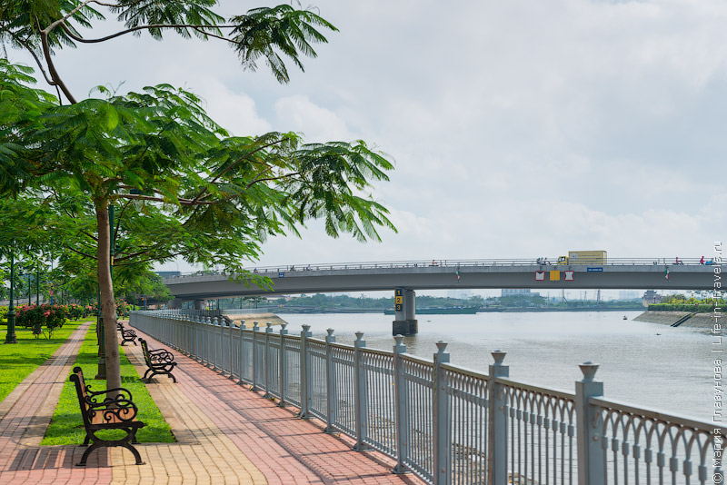 Река Меконг в Хошимине