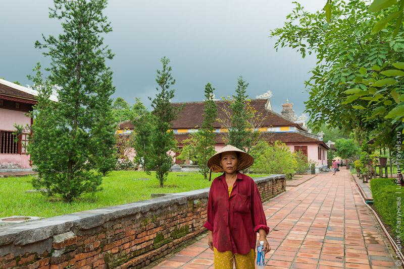Пагода Тьен Му в Хюэ