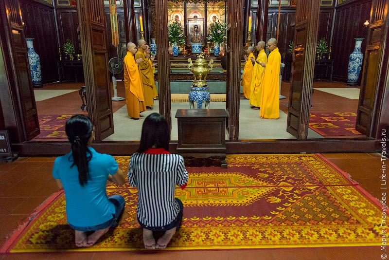 Пагода Тьен Му в Хюэ, Вьетнам