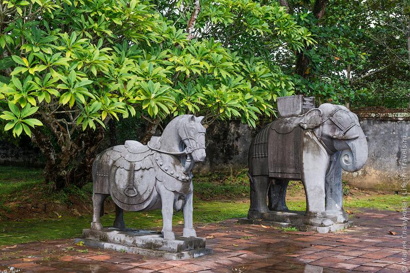 ГробницаМинь Мана (Minh Mang Tomb), Хюэ, Вьетнам