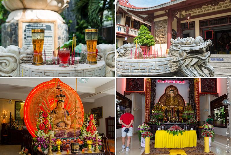Остановка у буддийского храма