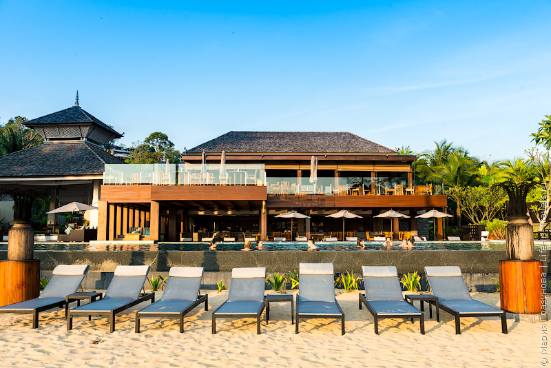 Пляж Лаян (Layan Beach) на Пхукете, отель Anantara Phuket Layan Resort & Spa