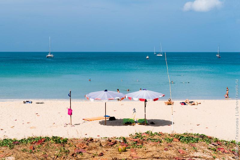 Пляж Най Харн на Пхукете (Nai Harn Beach)