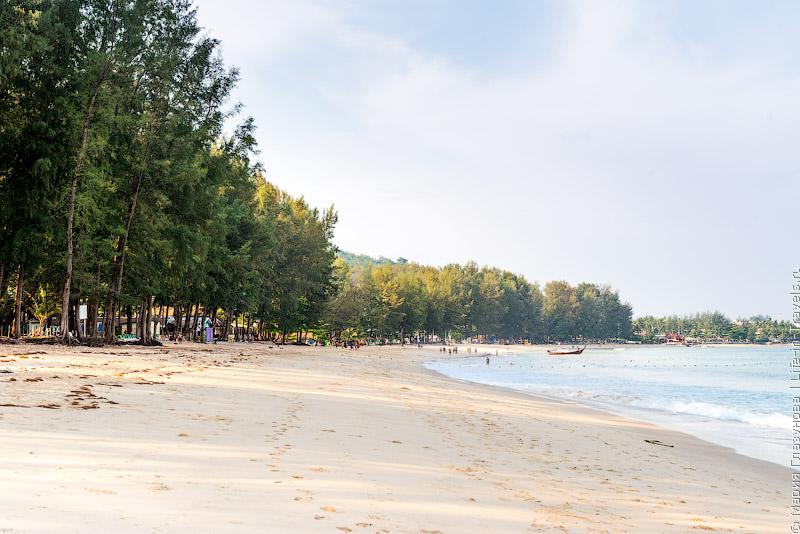 Пляж Бангтао (Bang Tao Beach), Пхукет