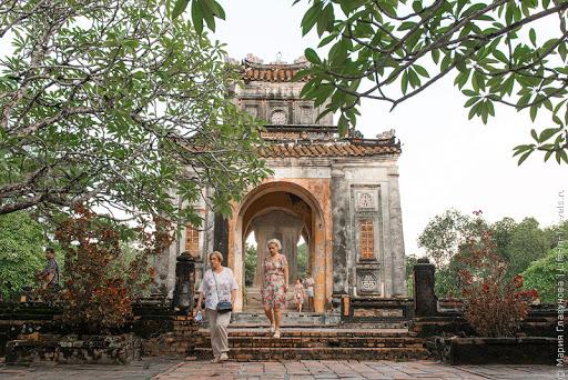 Гробница императора Ту Дука (Tomb of Tu Duc), Хюэ, Вьетнам