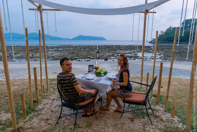 Thavorn Beach Village & Spa – отель с собственным пляжем на Пхукете
