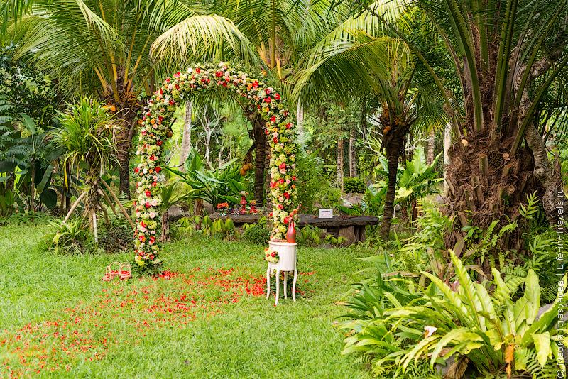Декорация на свадьбе