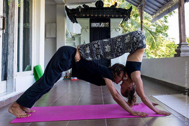 Обучение йоге
