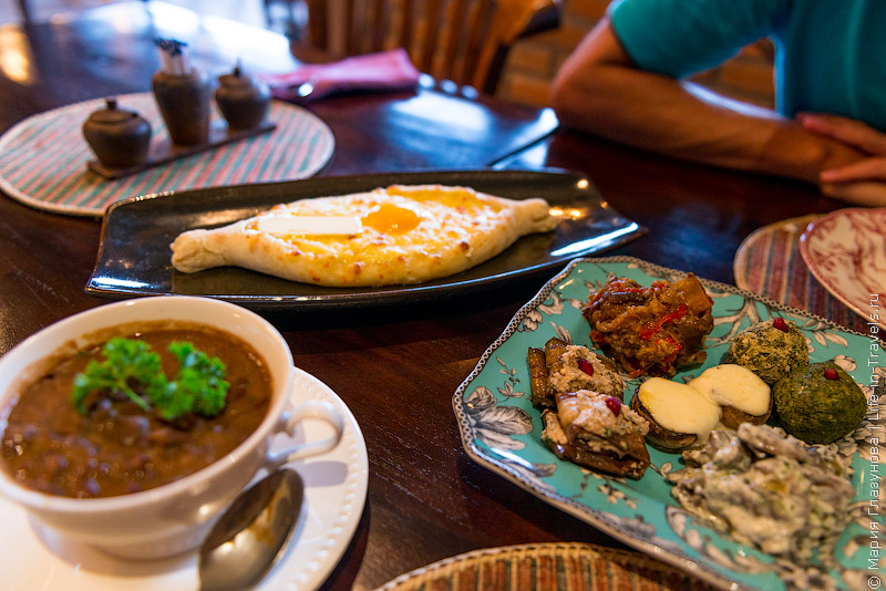 Грузинский ресторан на Бали