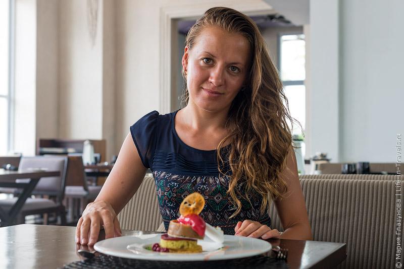 Маша и десерт