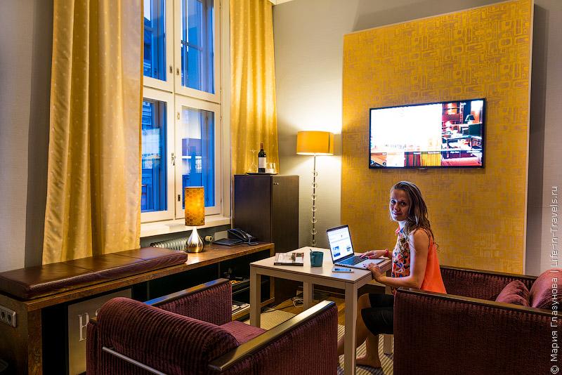Klaus K Hotel – дизайн-отель в центре Хельсинки