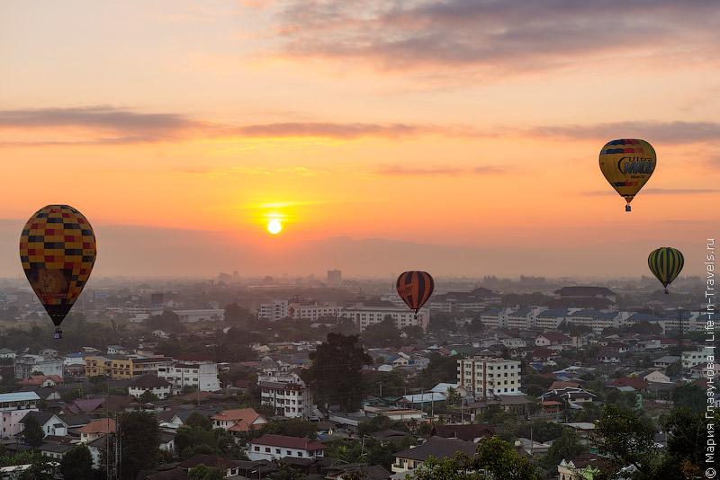 Рассвет в Чиангмае