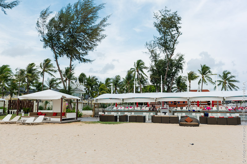 XANA Beach Club Bang Tao – пляжный клуб на Пхукете