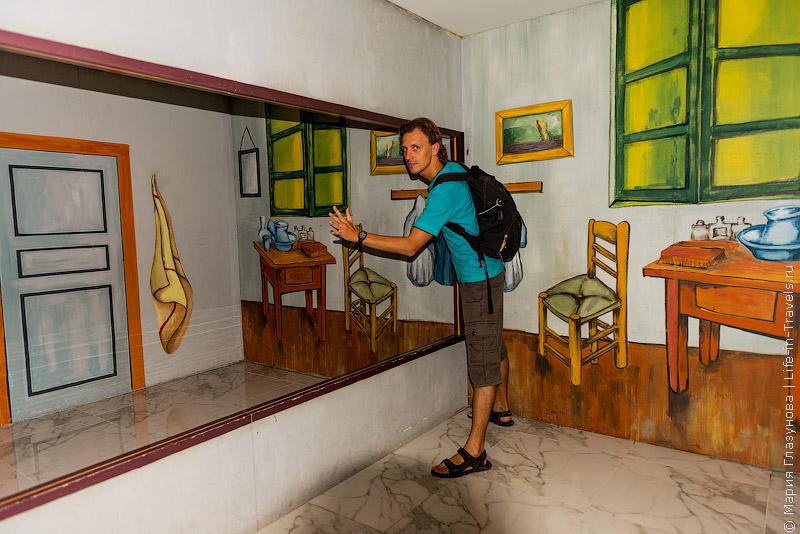 Музей оптических иллюзий в Ханое