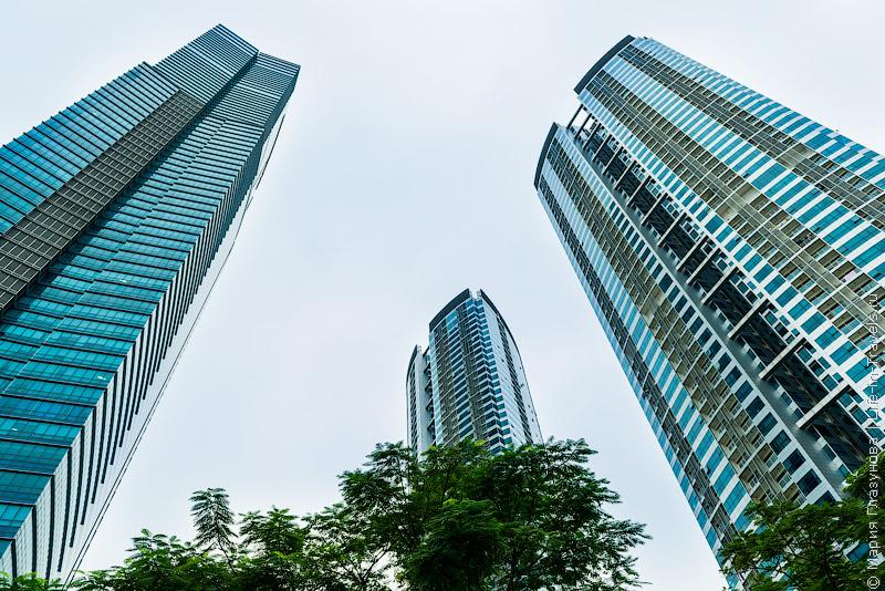 Самый высокий небоскреб в Ханое Keangnam Landmark Tower – обзорная площадка Sky 72 и Музей оптических иллюзий