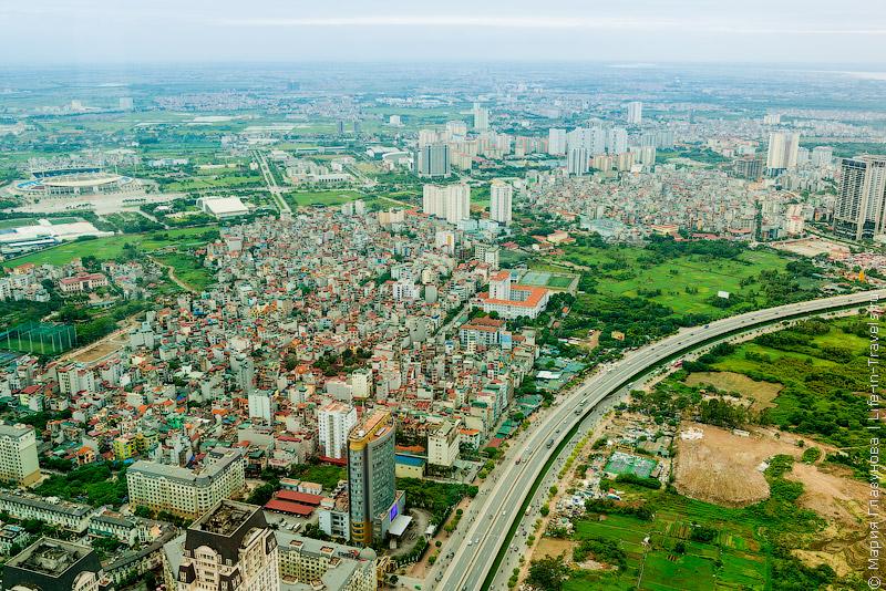 Самый высокий небоскреб в Ханое Keangnam Landmark Tower – обзорная площадка Sky 72