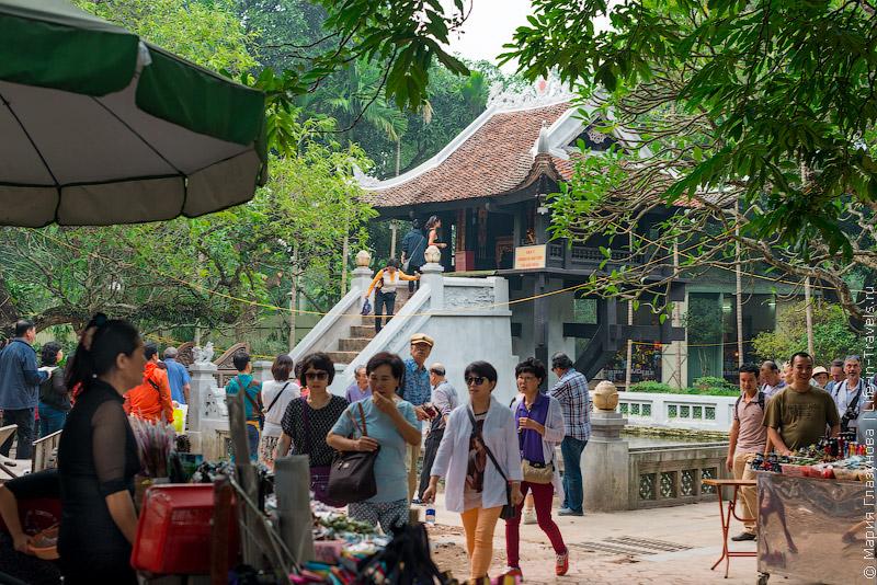 Пагода Одного Столпа (One pillar pagoda) в Ханое