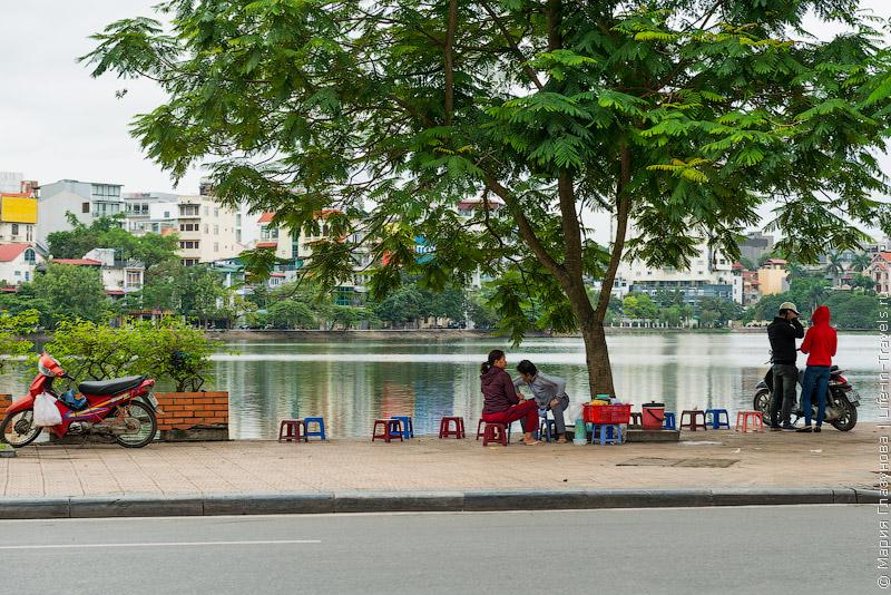 Озёра в Ханое
