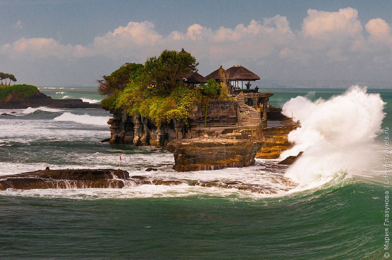 Пура Танах Лот, Бали