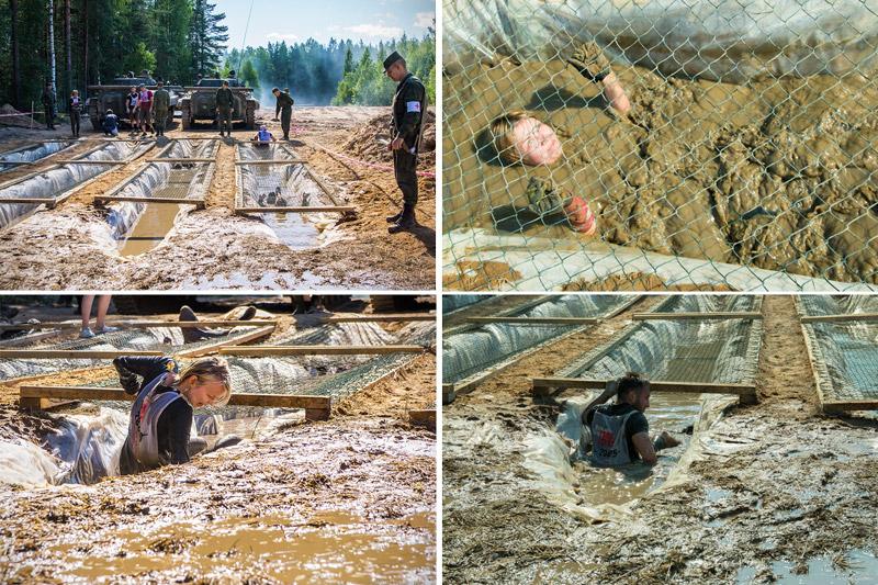 Ров с грязью