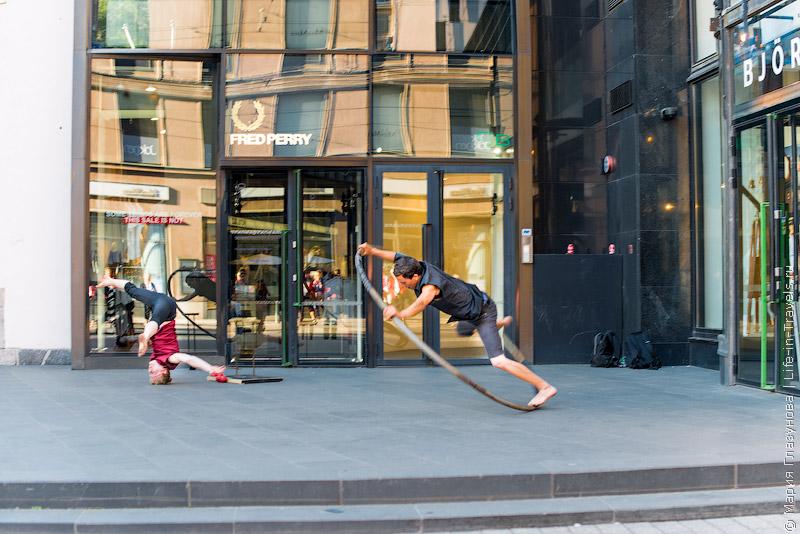 Гимнасты в Хельсинки