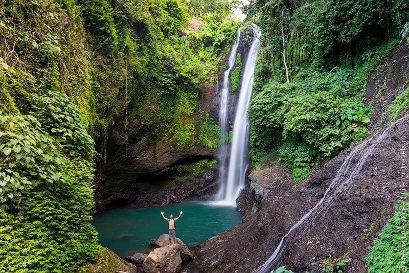 Водопад Алинг-Алинг на Бали