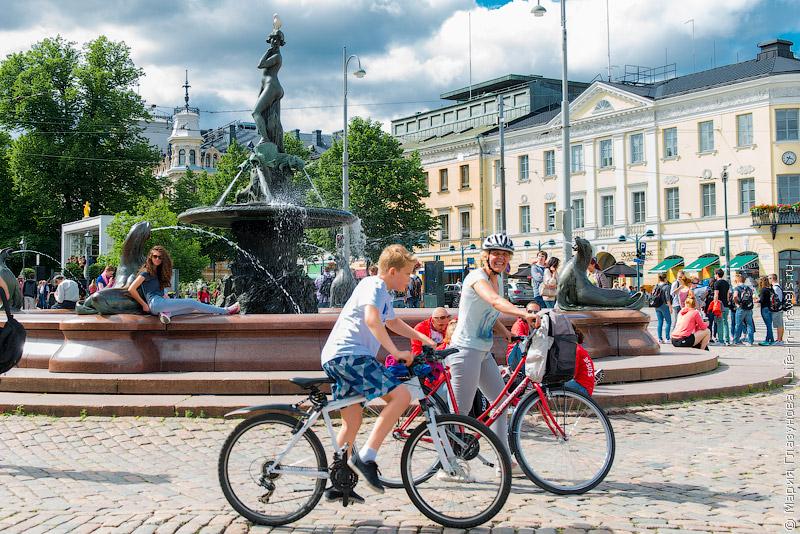 На велосипеде по Хельсинки